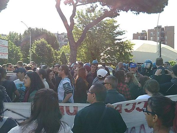 Salvini: centri sociali hanno la stessa funzione dei campi rom