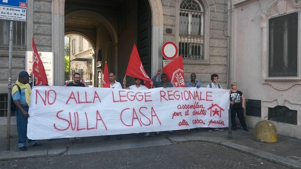 Ufficio Casa Pavia : Radio onda d urto pavia no alla legge regionale sulla casa