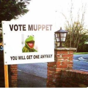 vota un muppet