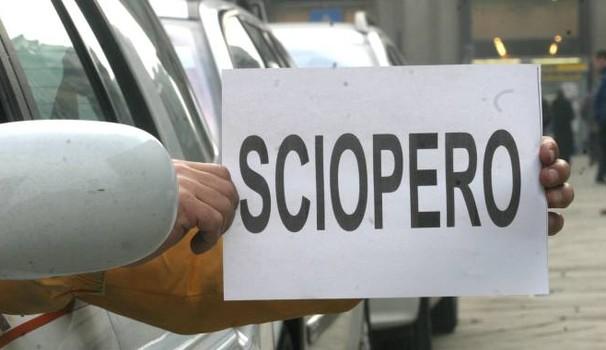 Sciopero taxi 23 marzo 2017