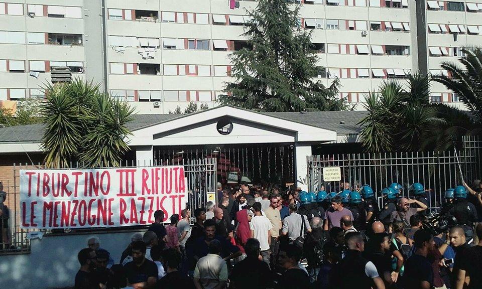 Roma, scontri tra Casapound e militanti di sinistra