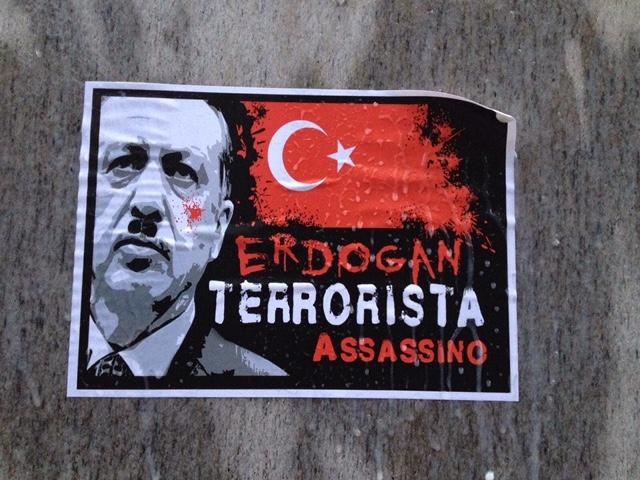 Il premier turco Erdogan a Roma: massima allerta per attentati e proteste