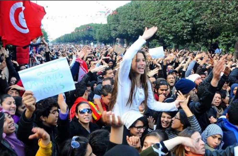 Esteri - Manifestazioni in Tunisia con 206 arresti