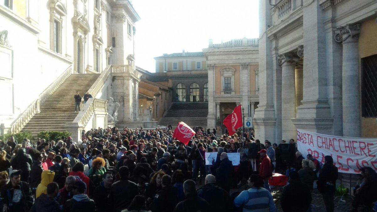 Roma. Incontro Raggi-Zingaretti.