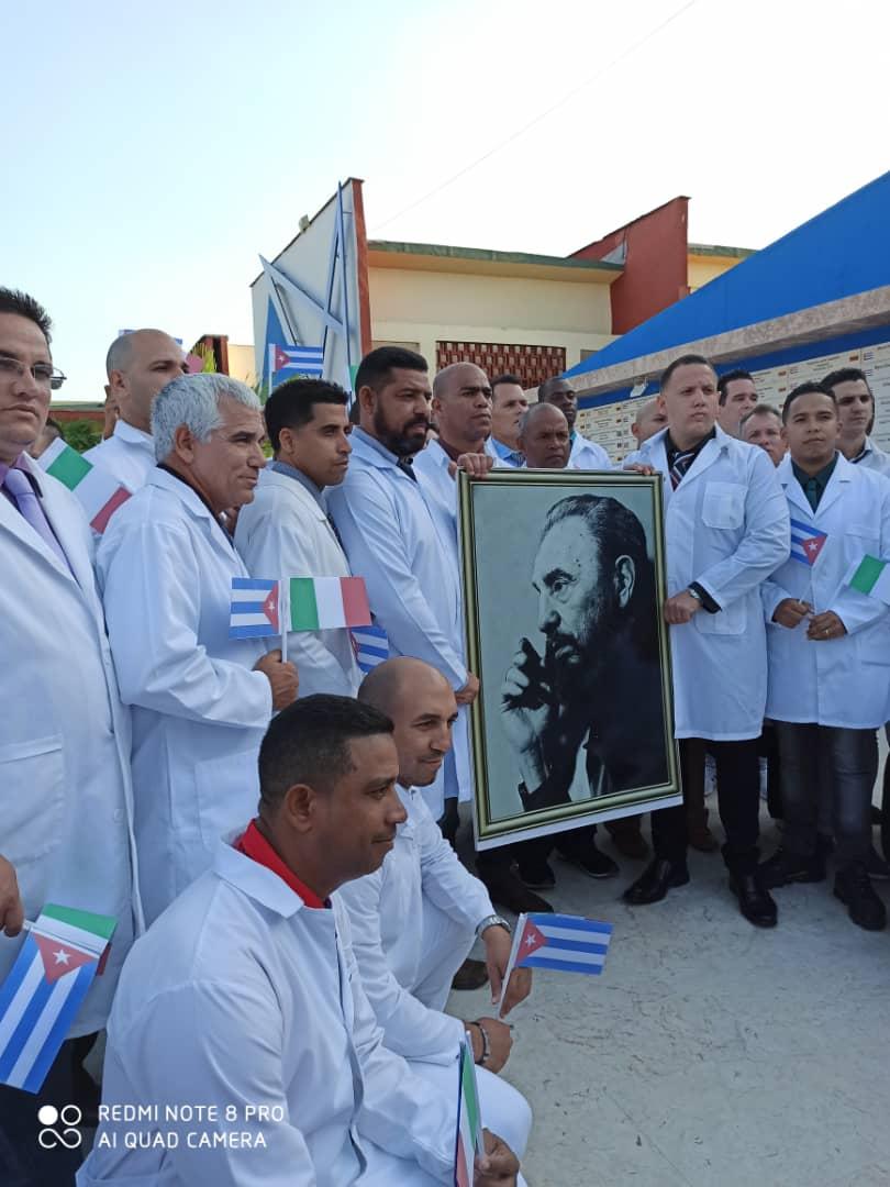 COVID-19: LA BRIGATA MEDICA CUBANA ENTRA IN SERVIZIO ALL'OSPEDALE MILITARE  DI CREMA – Radio Onda d`Urto